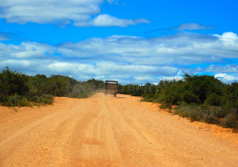route d'Africain d'aventure photo stock