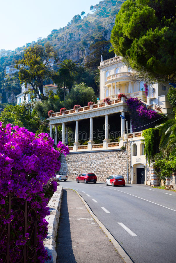 Route d'art en Provence images stock