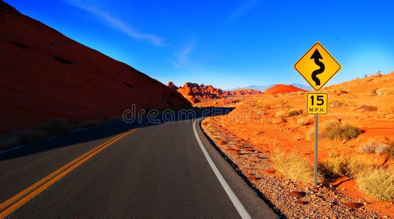 Route d'enroulement photos libres de droits