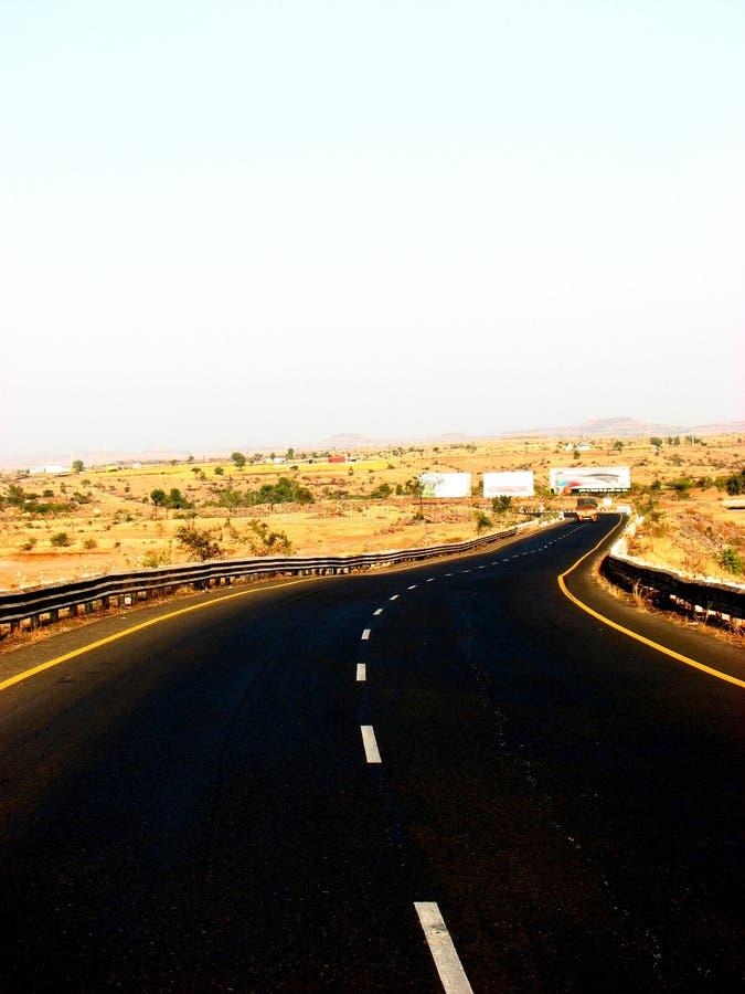 Route d'enroulement images stock