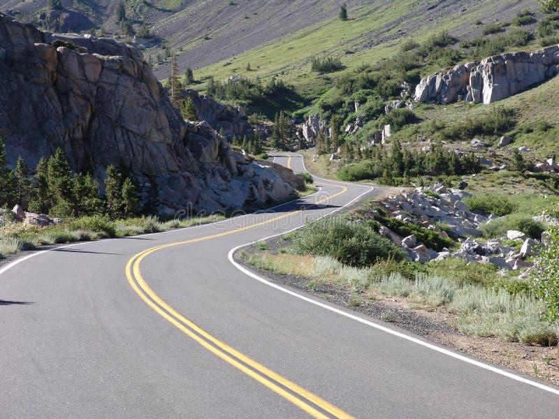 Route D Enroulement Photographie stock libre de droits