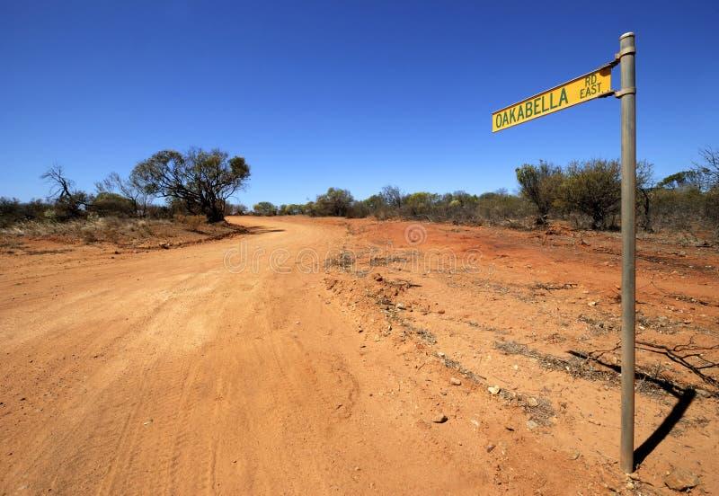 route d'oakabella à photo libre de droits