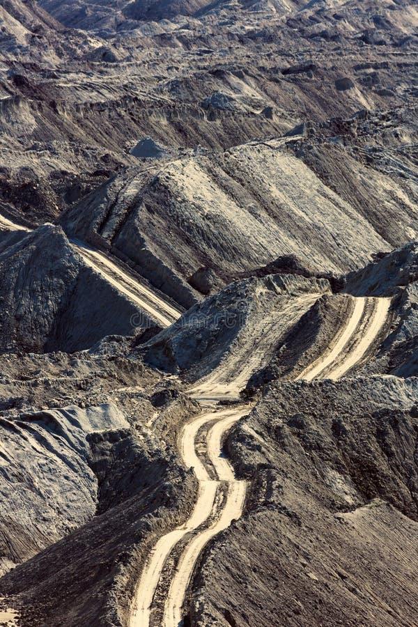 Download Route dans la mine image stock. Image du géologie, haut - 45353291