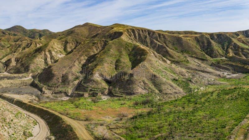 Route dans le pays de canyon image libre de droits