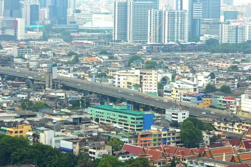 Route dans le transport de ville image stock