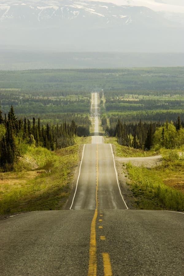 Route dans où ? photographie stock
