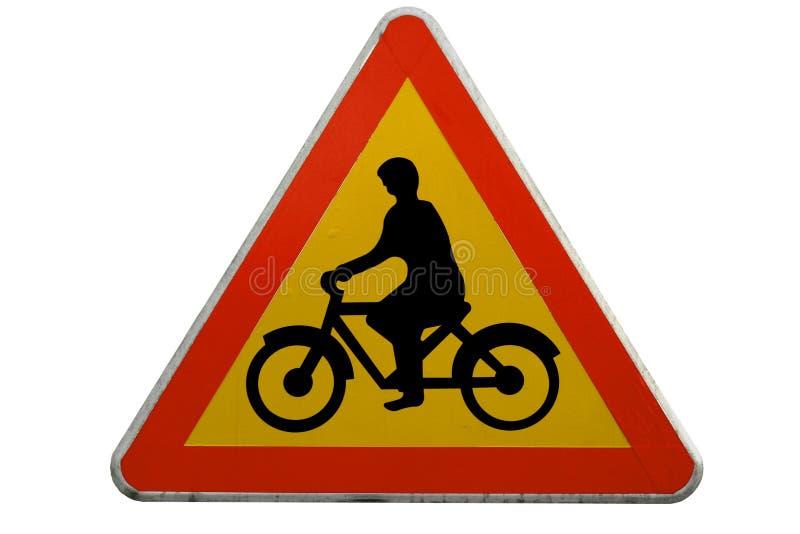 Route de bicyclette image libre de droits