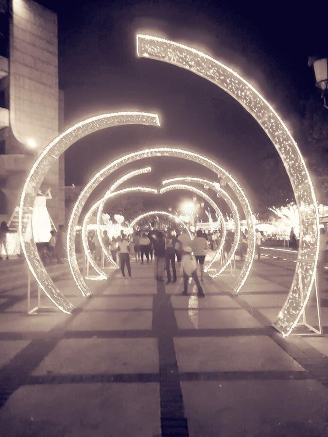 Route de cercle image libre de droits