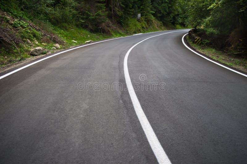 Route de courbe image libre de droits