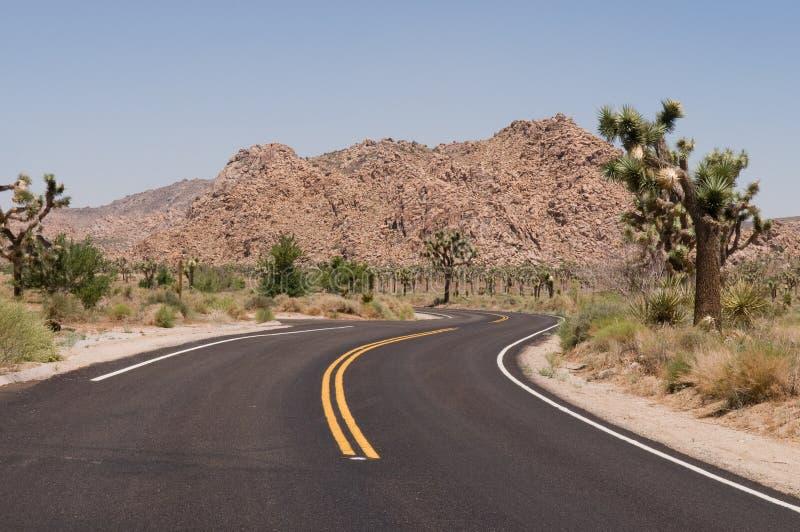 Route de désert images stock