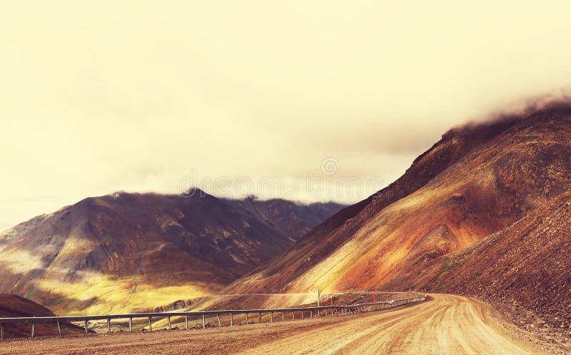 Route de Dalton photographie stock libre de droits