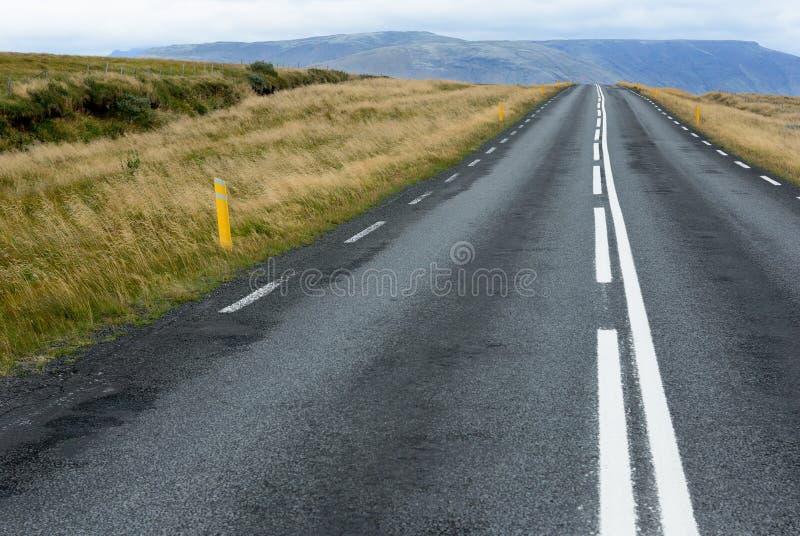 Route de disparaition photo libre de droits