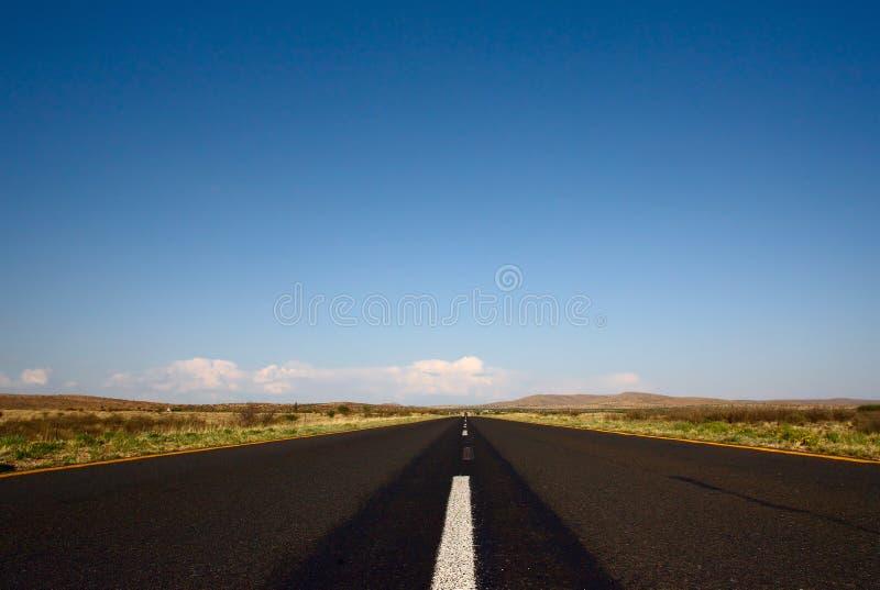 Route de goudron images stock