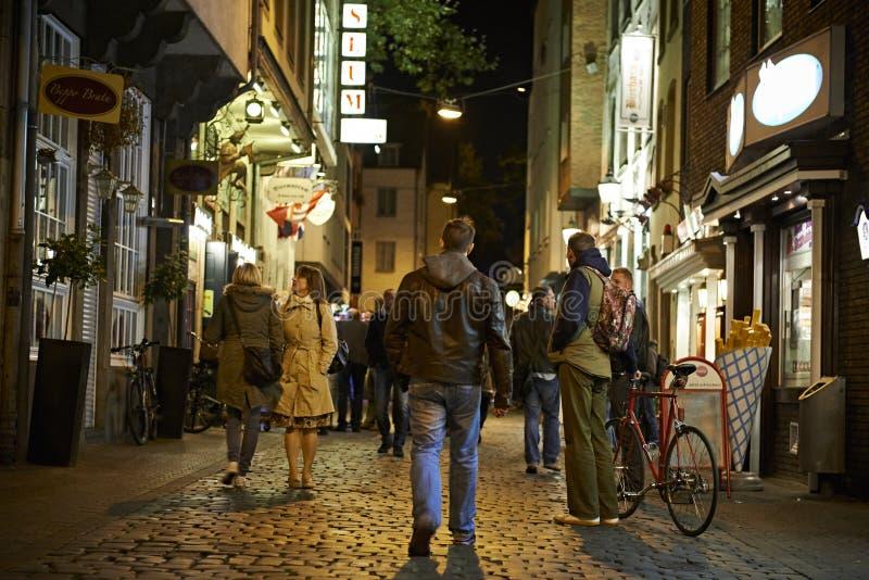 Route de Heumarkt photos stock