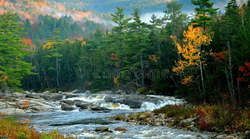Route de Kancamagus - Conway du nord, NH par Éric L Johnson Photography photo libre de droits
