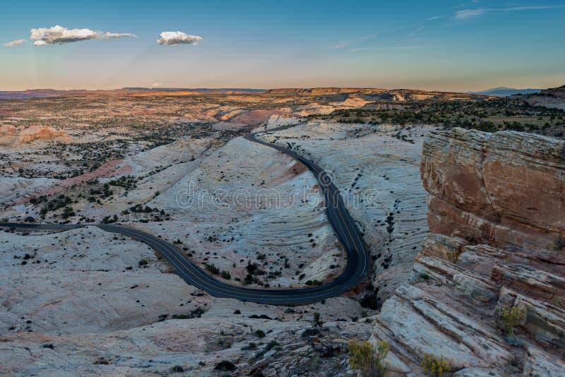 Route de l'Utah 12 millions de route du dollar images stock