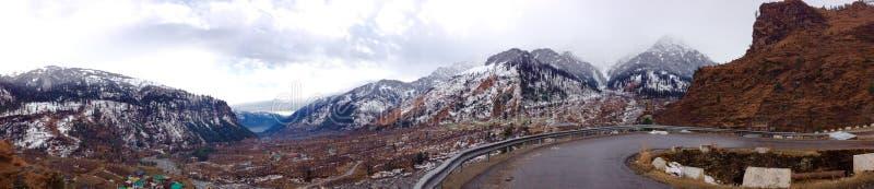 Route de Leh - de Manali images libres de droits
