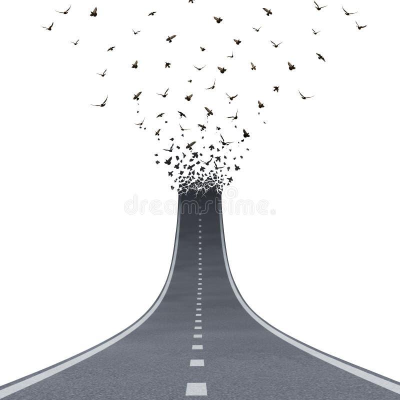 Route de liberté illustration libre de droits
