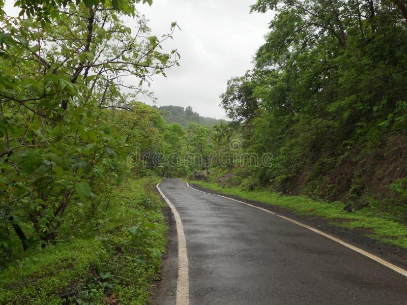 Route de Manson en Inde images stock