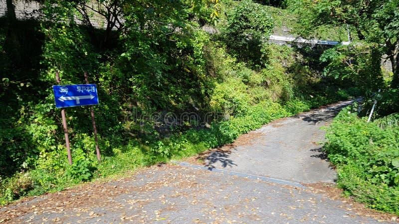 Route de montagne images stock