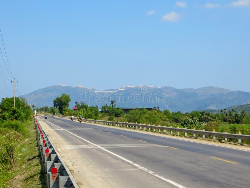 Route de montagne au Vietnam photos stock