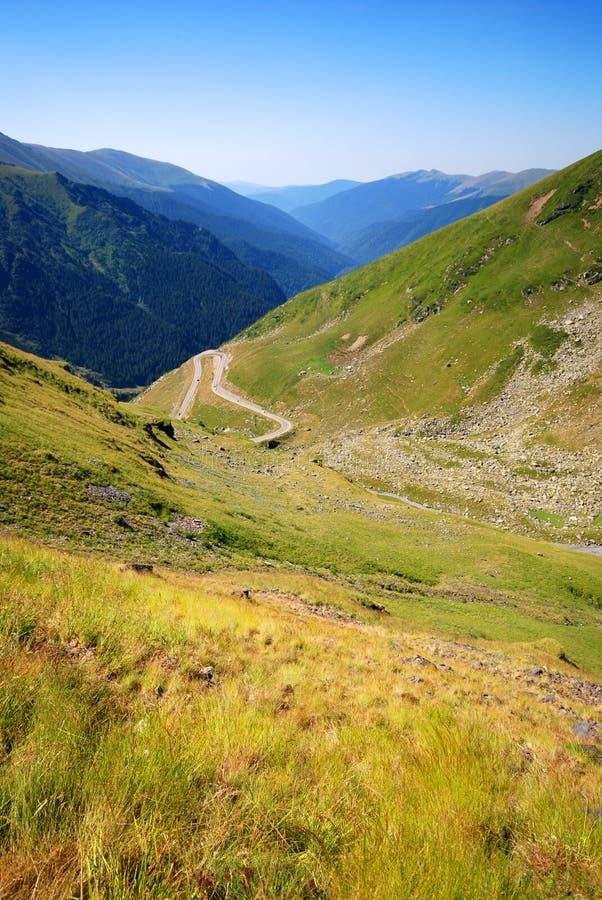 Route de montagne de Transfagarasan, Roumanie photos libres de droits