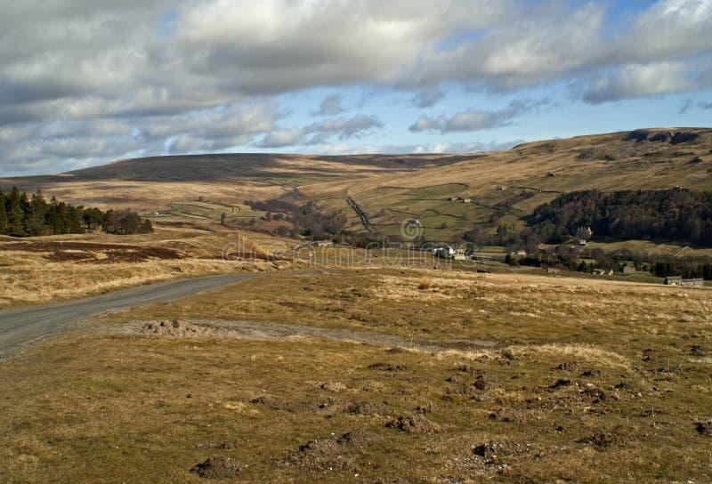 Route de Moorland image libre de droits