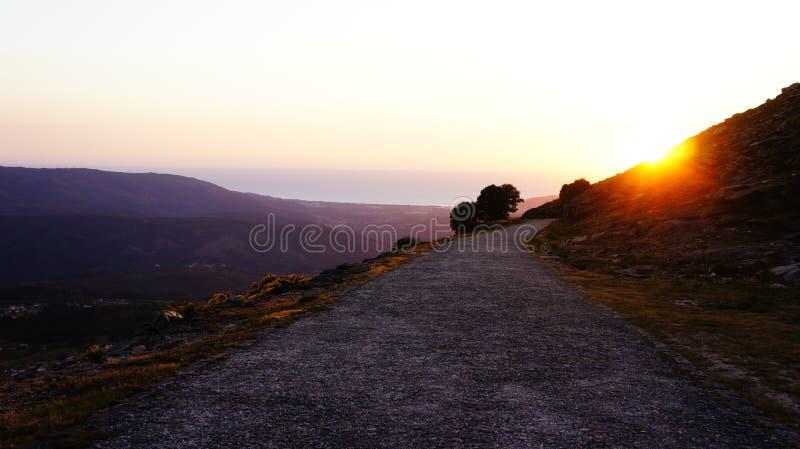 Route de Moutain photographie stock