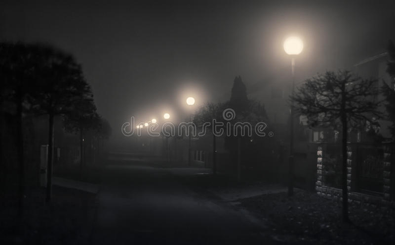 Route de mystère image stock