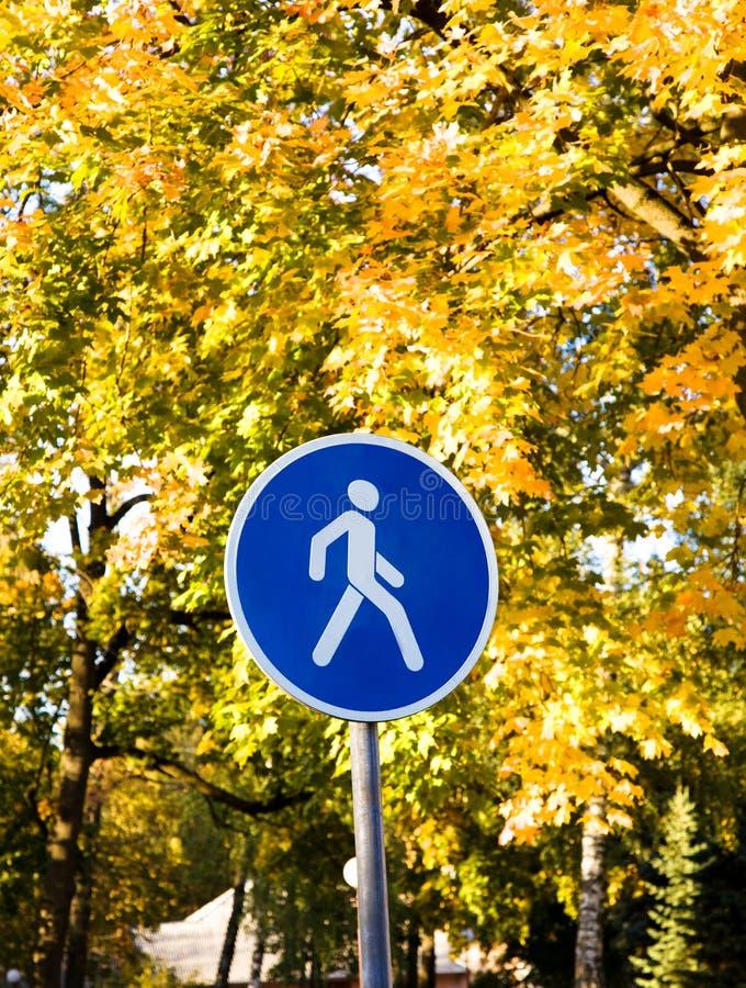Route de pied image libre de droits