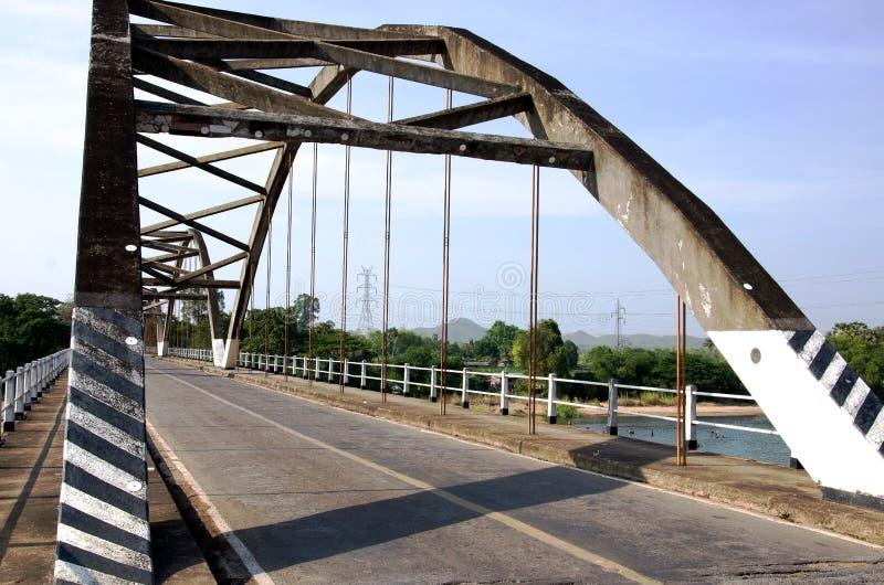 Route de pont images stock
