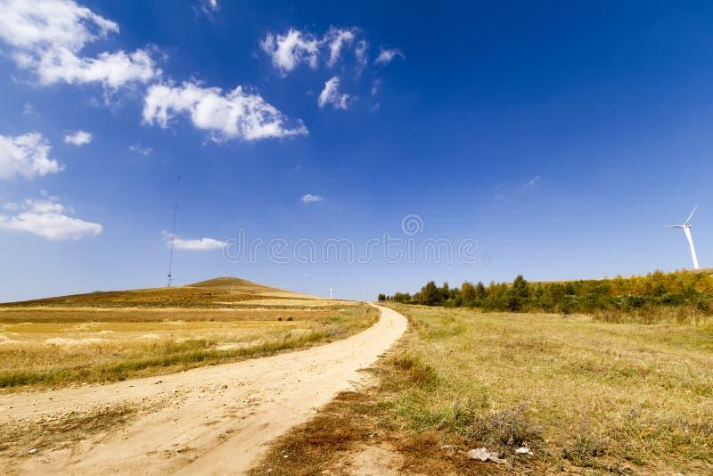 Route de région sauvage photo libre de droits