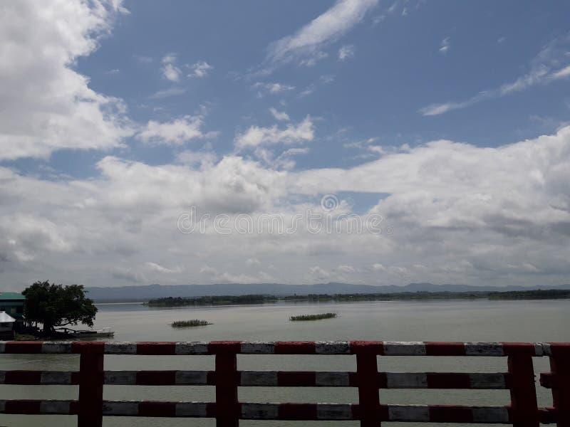 Route de rangamati de Kaptai en belle nature photos stock
