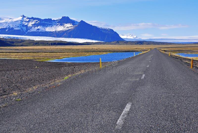 Route de Reykjavik photo libre de droits