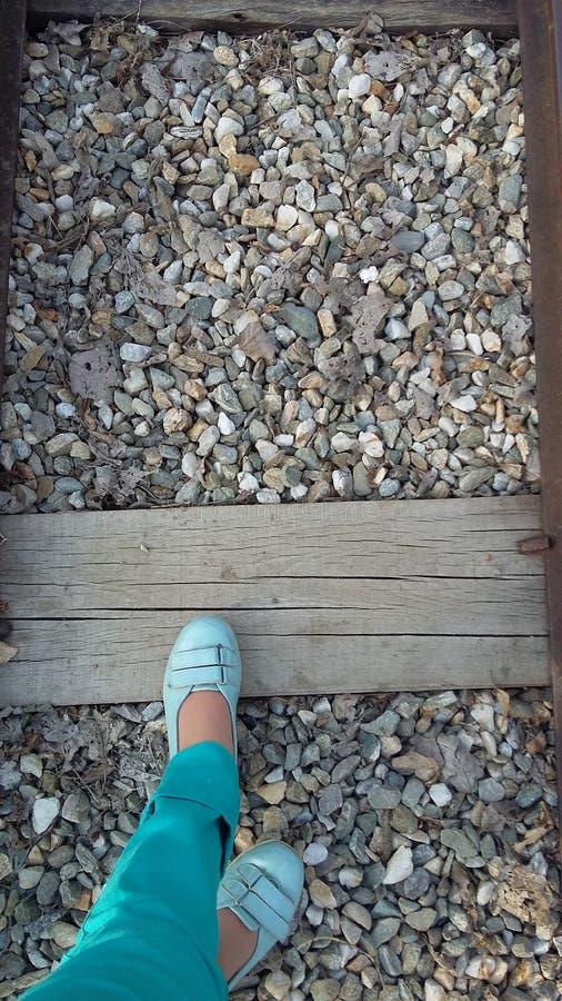 Route de train photos libres de droits