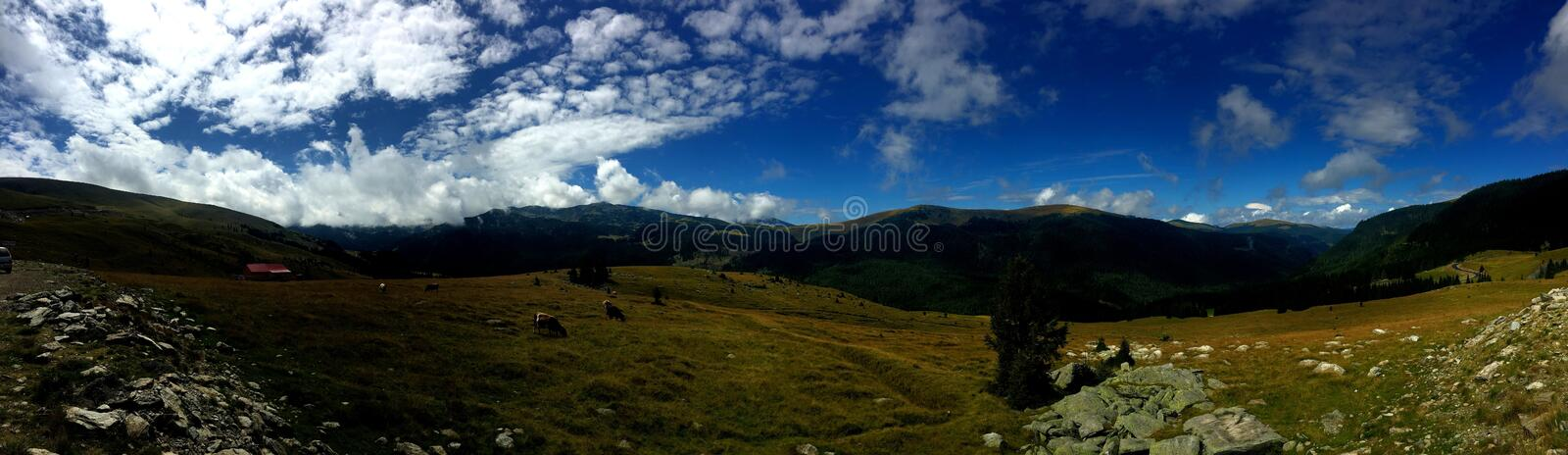 Route de Transalpina, Roumanie image stock