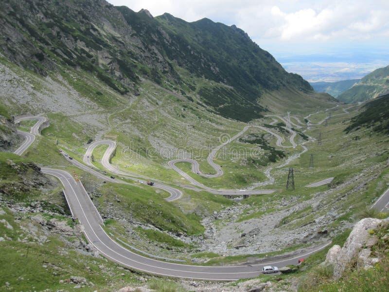Route de Transfagarasan, Roumanie photo libre de droits