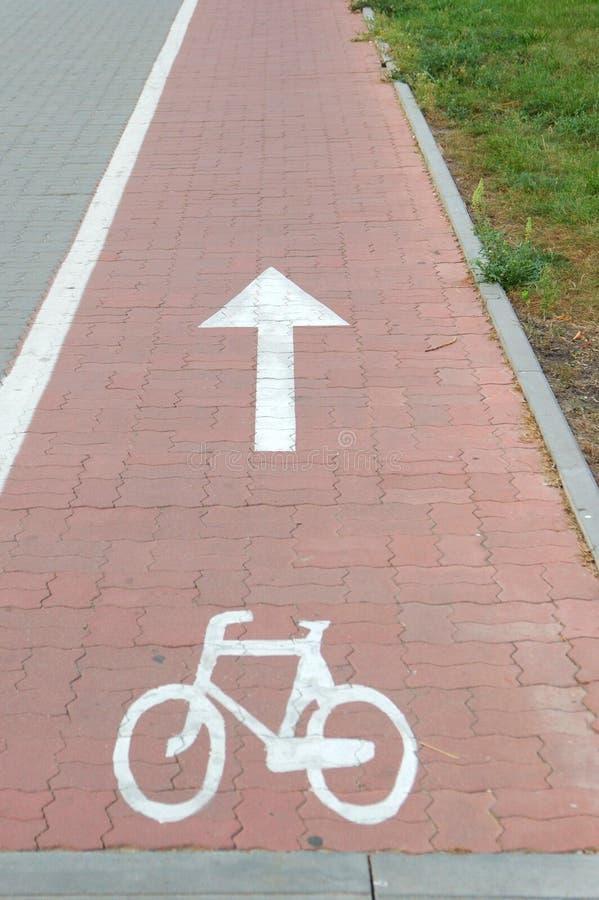 Route de vélo image libre de droits