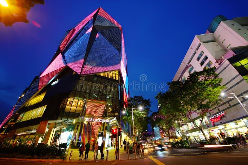 Route de verger de Singapour photographie stock libre de droits