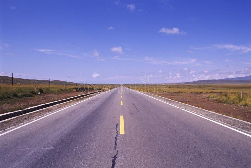 Route droite photos stock