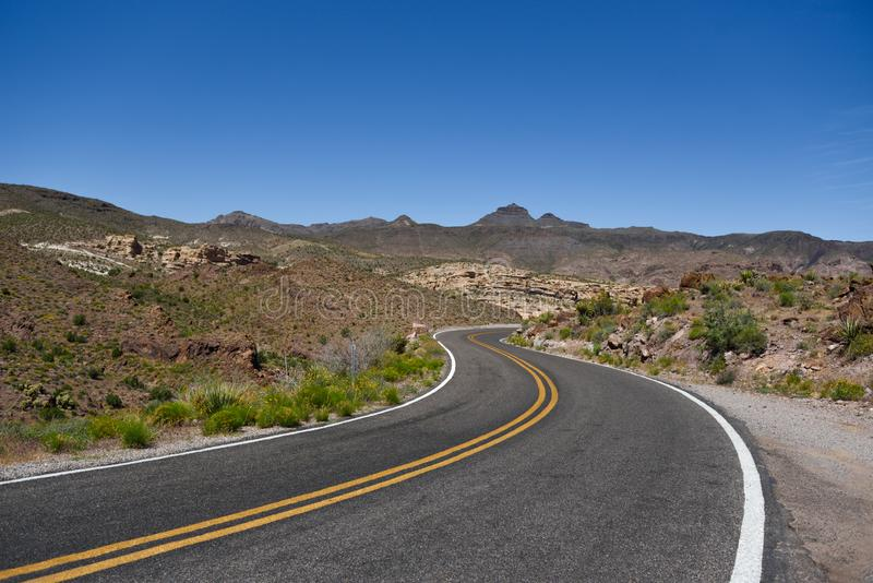 Route 66 duch za legendą obrazy royalty free