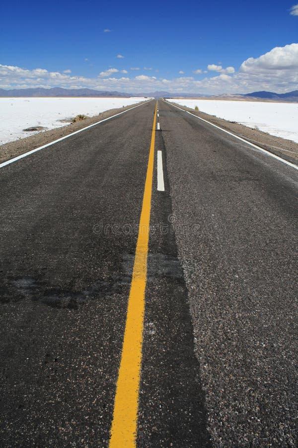 Route en Argentine images stock