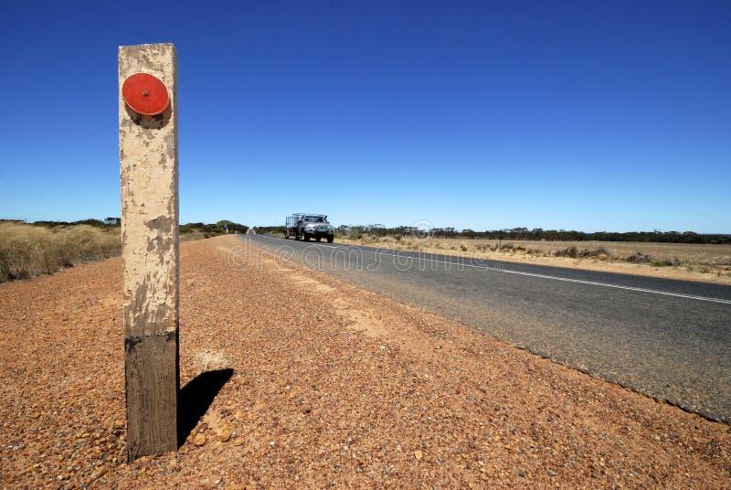 Route en Australie photographie stock
