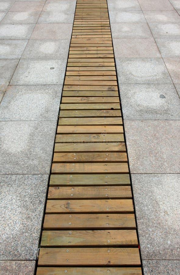 Route en bois de planche de texture photos libres de droits