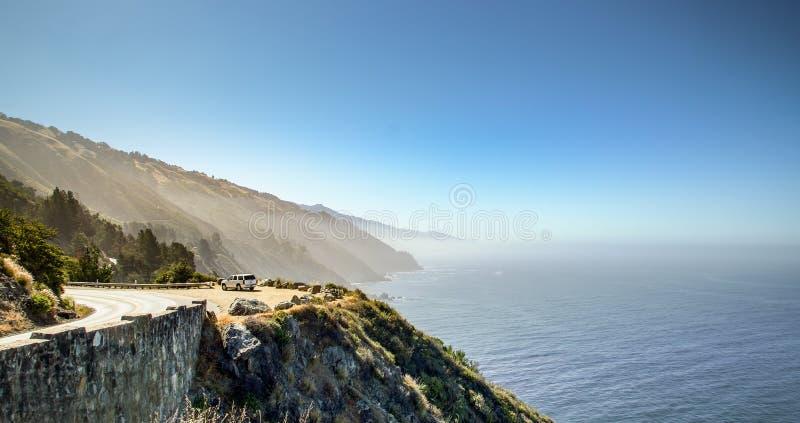 Route 1 en Californie photographie stock