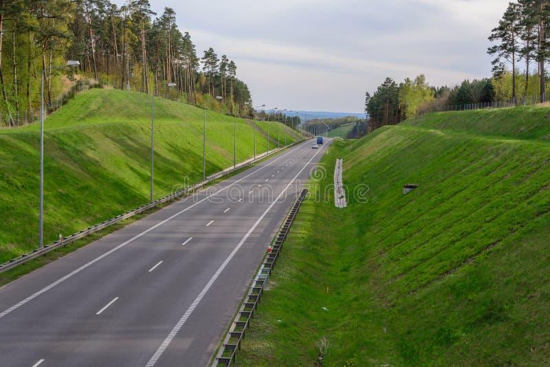 Route en gorge photo stock