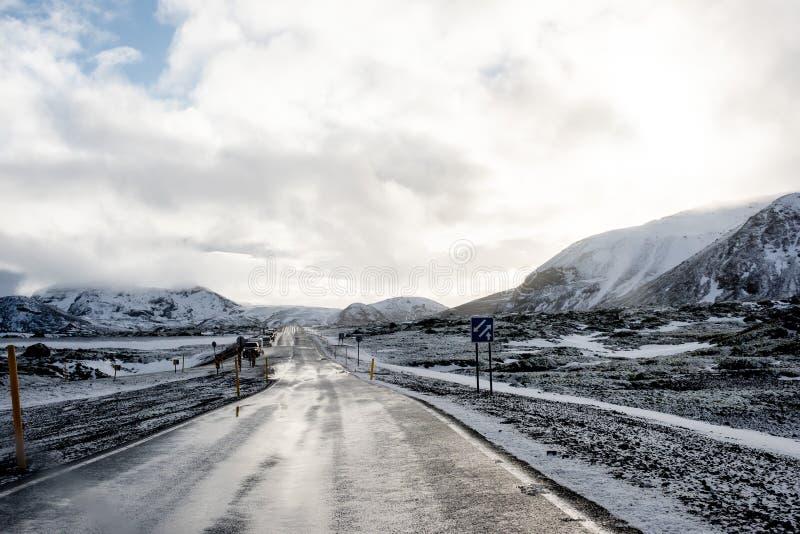 Route en Islande photos stock
