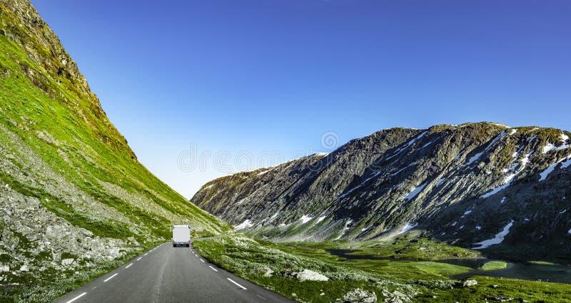Route en Norv?ge photos libres de droits