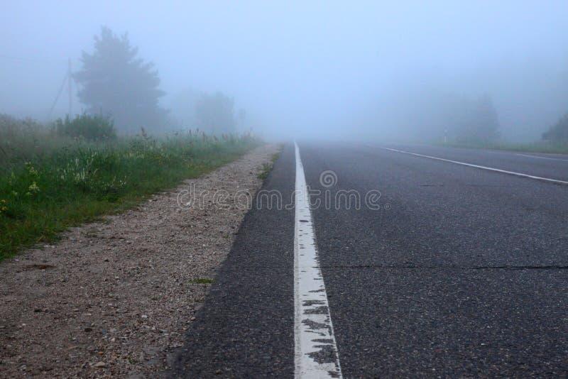 Route en regain photos libres de droits