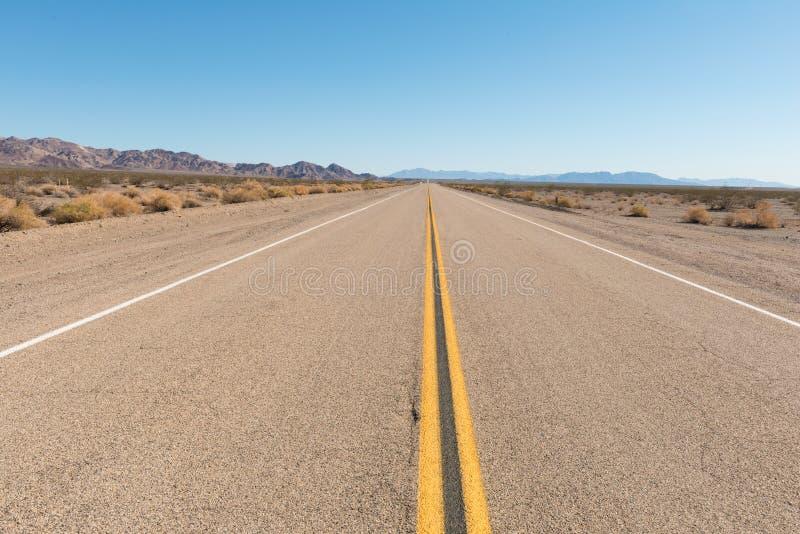 route för 66 Kalifornien royaltyfria foton